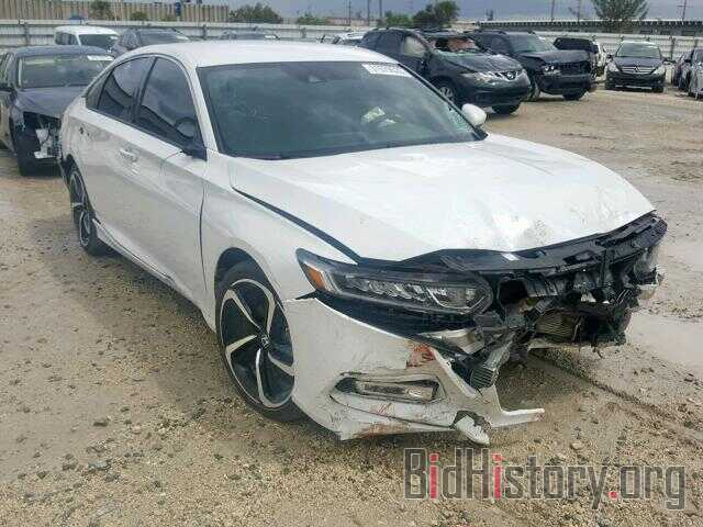 Photo 1HGCV1F35JA029528 - HONDA ACCORD SPO 2018