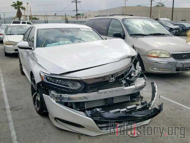 Photo 1HGCV1F36JA170737 - HONDA ACCORD SPO 2018