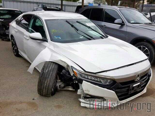 Photo 1HGCV1F33JA139297 - HONDA ACCORD SPO 2018