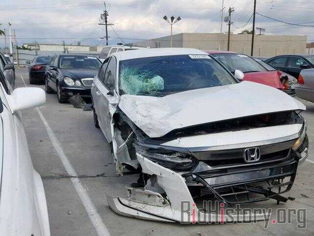 Photo 1HGCV1F39JA260531 - HONDA ACCORD SPO 2018