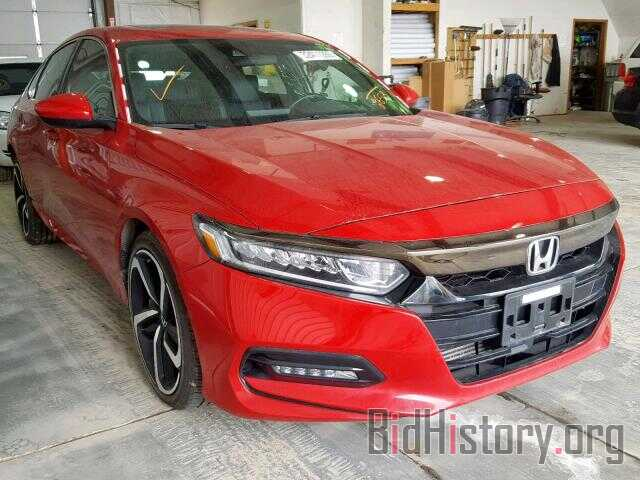 Photo 1HGCV2F38JA002653 - HONDA ACCORD SPO 2018