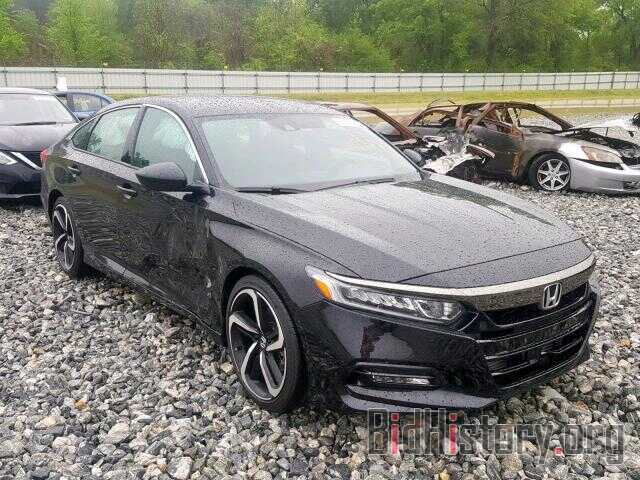Photo 1HGCV1F39JA020489 - HONDA ACCORD SPO 2018