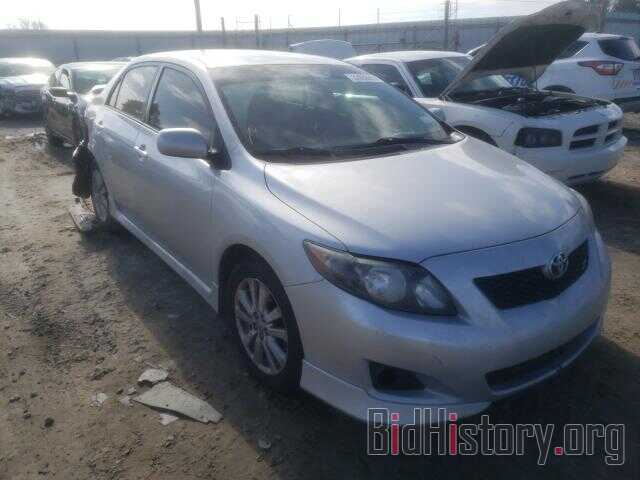 Photo 1NXBU40E49Z132650 - TOYOTA COROLLA 2009
