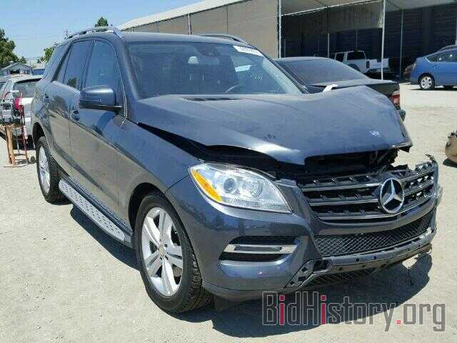 Photo 4JGDA5HB1DA194955 - MERCEDES-BENZ ML350 2013