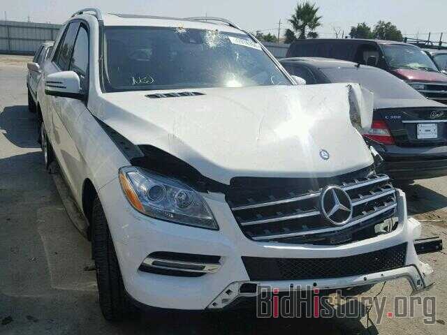 Photo 4JGDA5HB7DA201049 - MERCEDES-BENZ ML350 2013