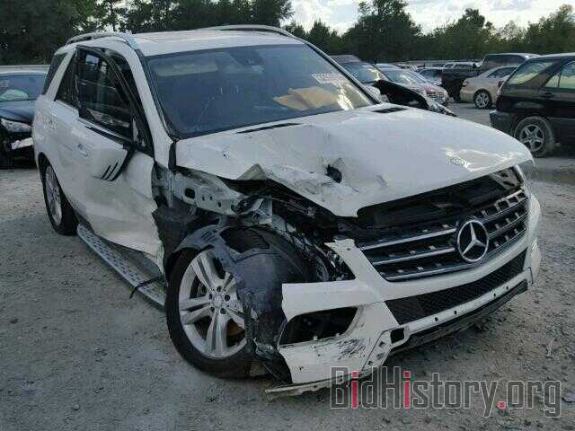 Photo 4JGDA5JB5DA174444 - MERCEDES-BENZ ML350 2013