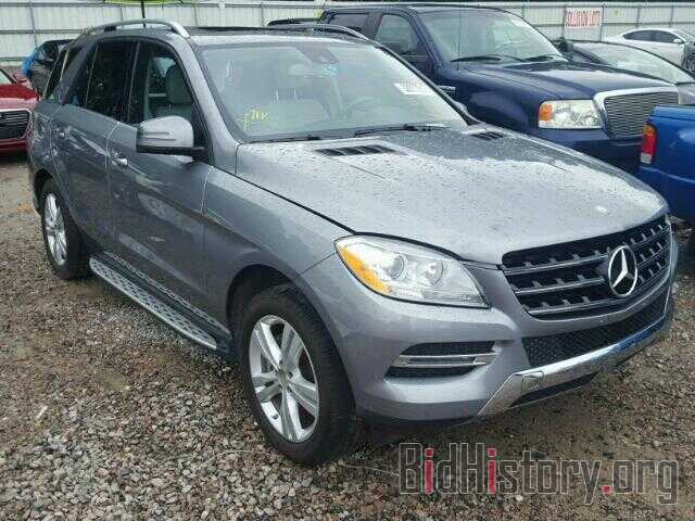 Photo 4JGDA5JB0DA184606 - MERCEDES-BENZ ML350 2013