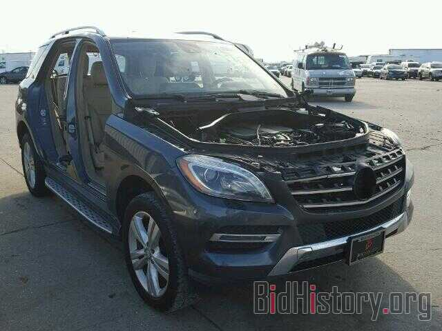 Photo 4JGDA5HB8DA230141 - MERCEDES-BENZ ML350 2013