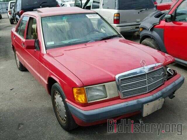 Photo WDBDA28D7NF989256 - MERCEDES-BENZ 190 1992