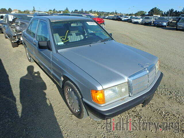Photo WDBDA28D2NF966595 - MERCEDES-BENZ 190 1992