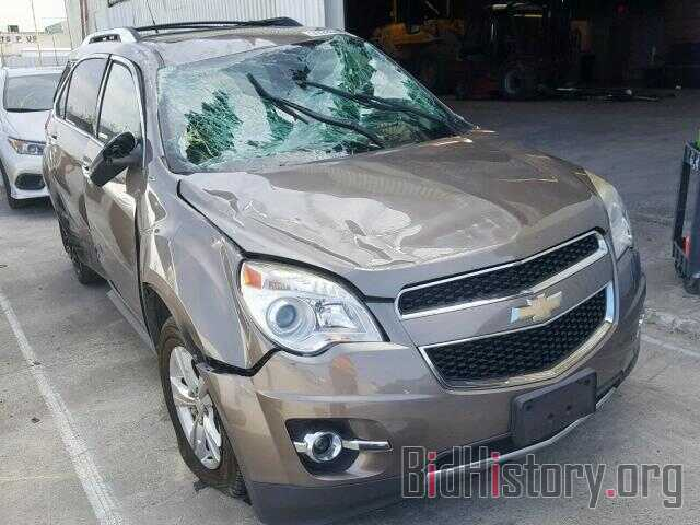 Photo 2GNALFEK7C6184378 - CHEVROLET EQUINOX LT 2012