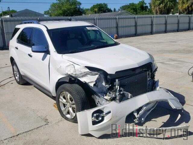 Photo 2GNALFEK6C1267216 - CHEVROLET EQUINOX LT 2012