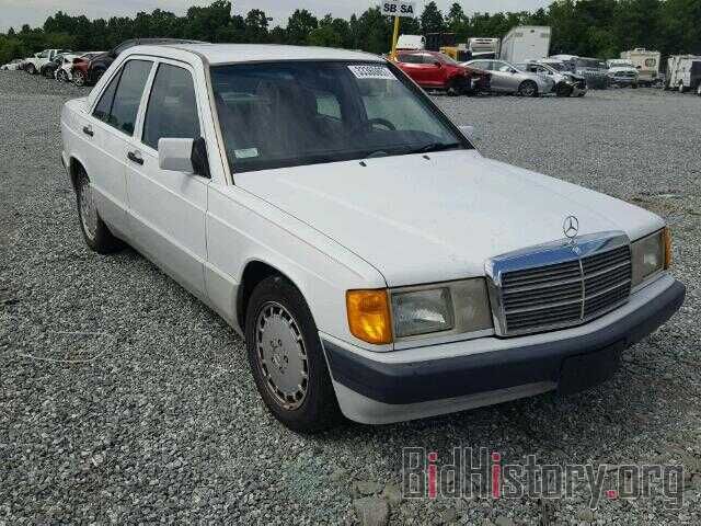 Photo WDBDA28D3NF877313 - MERCEDES-BENZ 190 1992