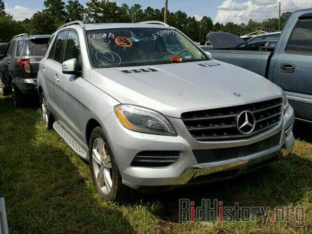 Photo 4JGDA5HB5DA202961 - MERCEDES-BENZ ML350 2013