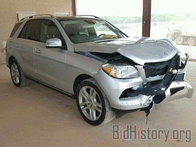 Photo 4JGDA5HB7DA214528 - MERCEDES-BENZ ML350 2013