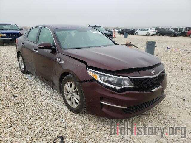 Photo 5XXGT4L33GG036714 - KIA OPTIMA 2016