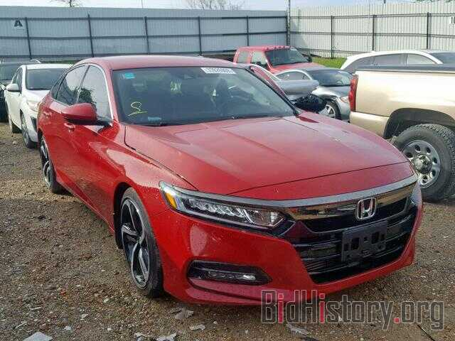 Photo 1HGCV1F38JA116467 - HONDA ACCORD SPO 2018