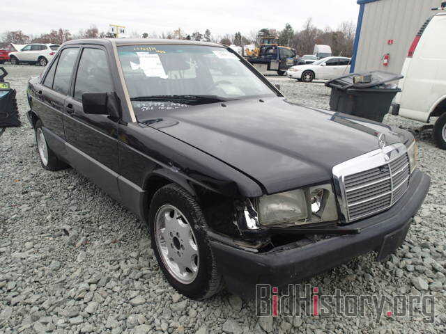 Photo WDBDA29D0NF874934 - MERCEDES-BENZ 190 1992