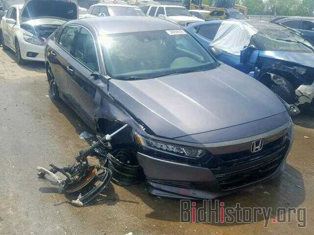 Photo 1HGCV1F3XJA263583 - HONDA ACCORD SPO 2018