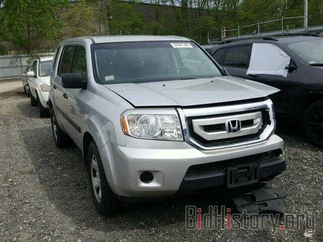 Photo 5FNYF4H28BB001318 - HONDA PILOT 2011