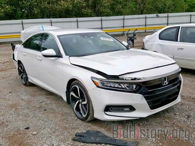 Photo 1HGCV1F34JA102260 - HONDA ACCORD SPO 2018
