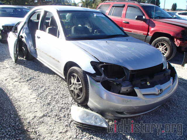 Photo 2HGES16385H584675 - HONDA CIVIC 2005