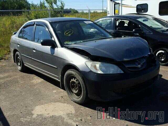 Photo 2HGES15385H009705 - HONDA CIVIC 2005