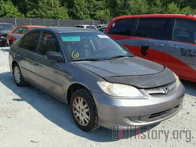 Photo 2HGES16585H631091 - HONDA CIVIC 2005