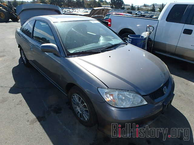 Photo 1HGEM22945L004349 - HONDA CIVIC 2005