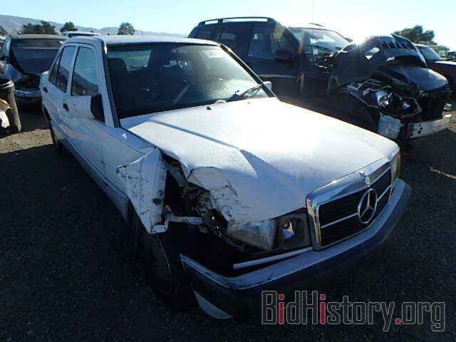 Photo WDBDA29D6NF914711 - MERCEDES-BENZ 190 1992