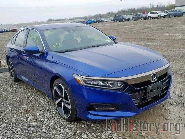 Photo 1HGCV2E32JA045953 - HONDA ACCORD SPO 2018