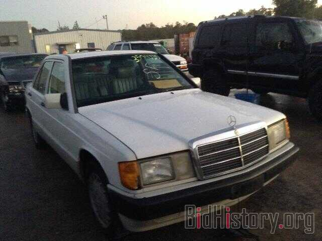 Photo WDBDA29D3NF959900 - MERCEDES-BENZ 190 1992