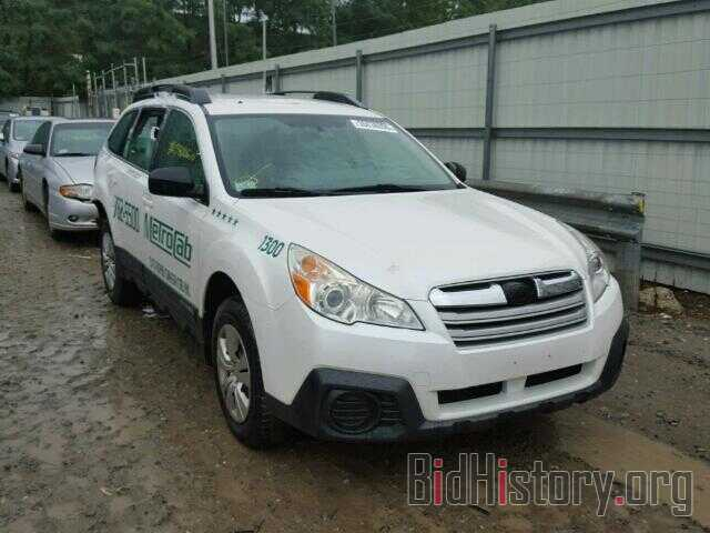 Photo 4S4BRBACXD3214318 - SUBARU OUTBACK 2013
