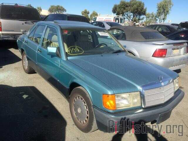 Photo WDBDA29D2NF928122 - MERCEDES-BENZ 190 1992