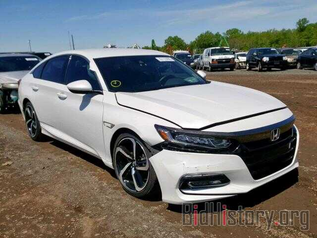 Photo 1HGCV1F31JA027839 - HONDA ACCORD SPO 2018