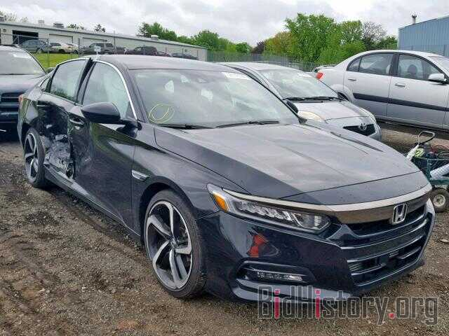 Photo 1HGCV1F38JA181254 - HONDA ACCORD SPO 2018