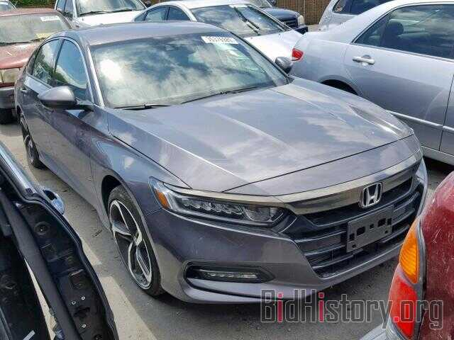 Photo 1HGCV1F32JA240377 - HONDA ACCORD SPO 2018
