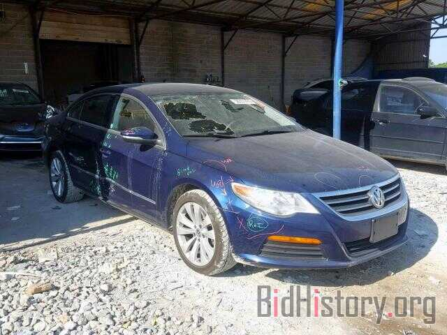 Photo WVWMN7AN8BE726104 - VOLKSWAGEN CC 2011