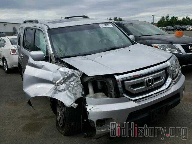 Photo 5FNYF4H98BB068661 - HONDA PILOT 2011