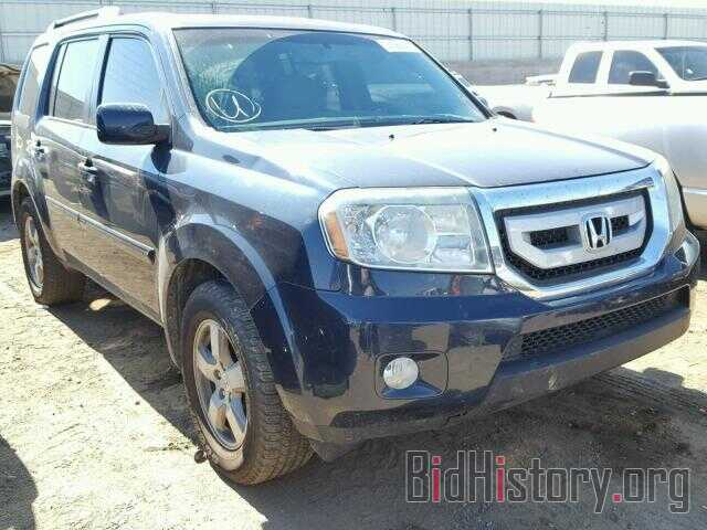 Photo 5FNYF4H62BB073487 - HONDA PILOT 2011