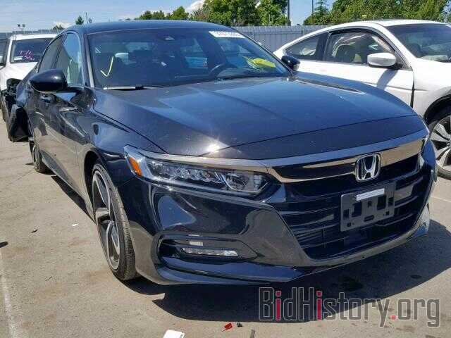 Photo 1HGCV1F3XJA075677 - HONDA ACCORD SPO 2018