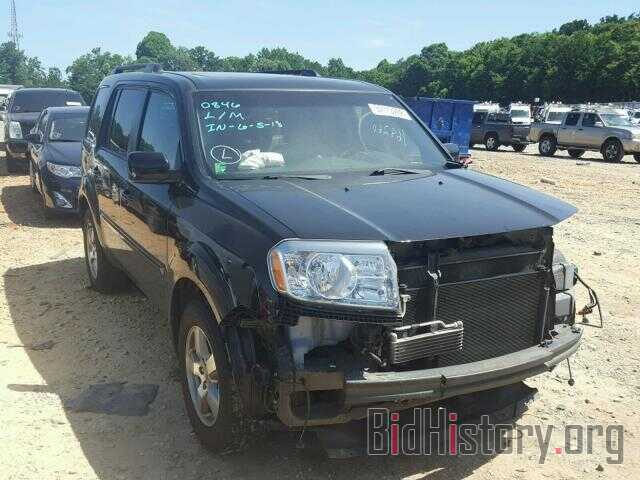 Photo 5FNYF3H51BB028347 - HONDA PILOT 2011