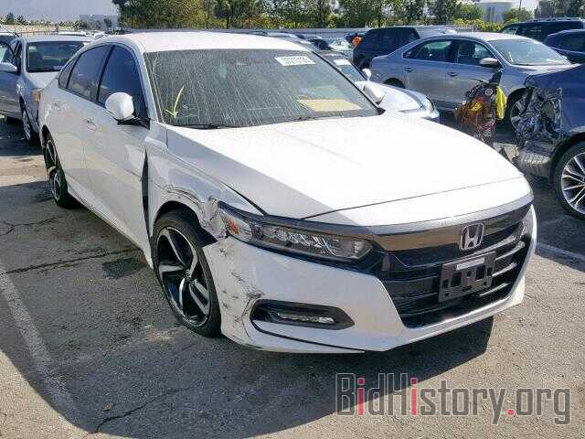 Photo 1HGCV1F35JA006234 - HONDA ACCORD SPO 2018
