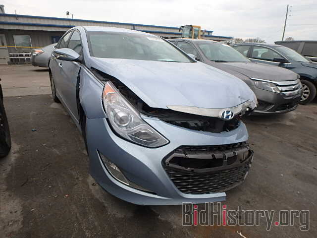 Photo KMHEC4A43DA074448 - HYUNDAI SONATA 2013