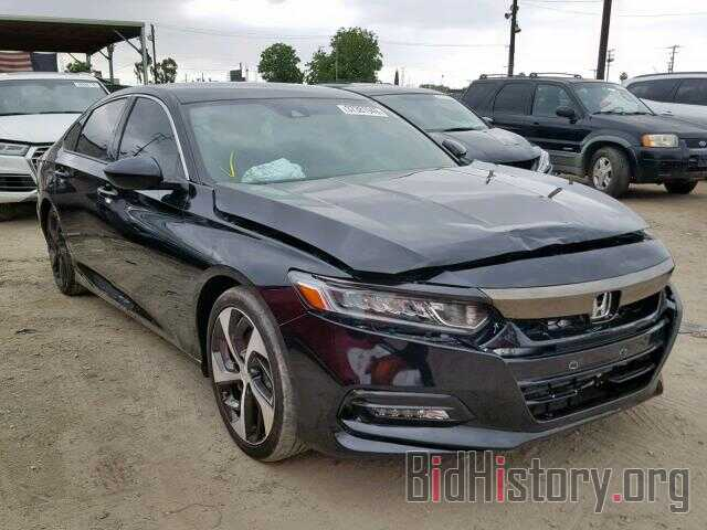 Photo 1HGCV1F34JA180165 - HONDA ACCORD SPO 2018