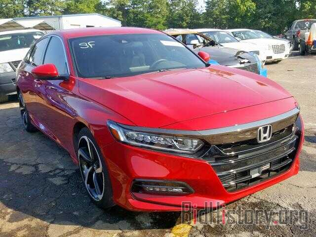 Photo 1HGCV1F37JA002850 - HONDA ACCORD SPO 2018