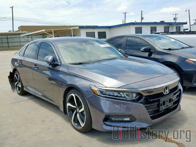 Photo 1HGCV1F32JA157824 - HONDA ACCORD SPO 2018
