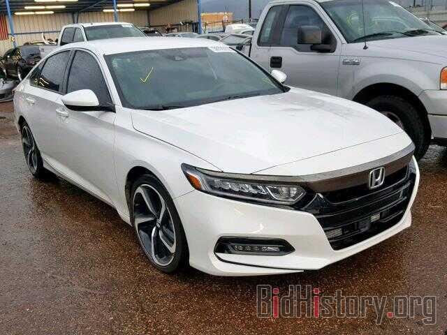 Photo 1HGCV1F35JA174570 - HONDA ACCORD SPO 2018