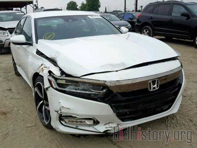 Photo 1HGCV1F34JA184572 - HONDA ACCORD SPO 2018