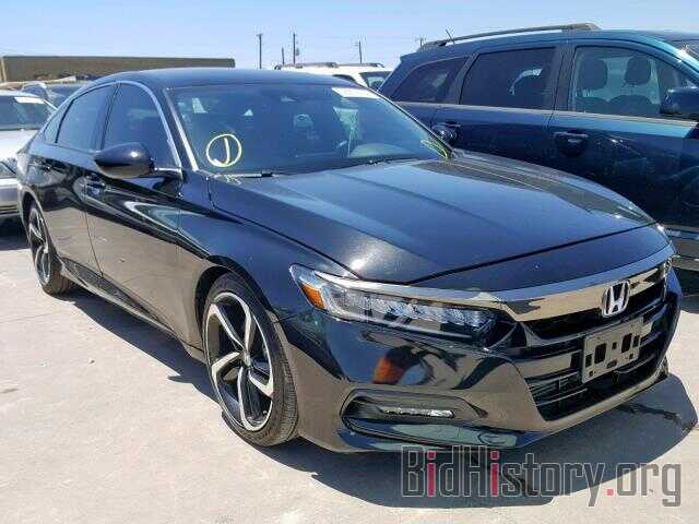 Photo 1HGCV1F37JA162579 - HONDA ACCORD SPO 2018
